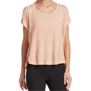 Rag & Bone Pink Rose Lottie T-Shirt
